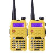 Рация Baofeng UV-5R (Желтая) 8 Ватт